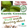 Testimonial Tuesday Hangout - Essante Organics Earth Greens RAW, 750 MHz Negative Charge, Alkalizing