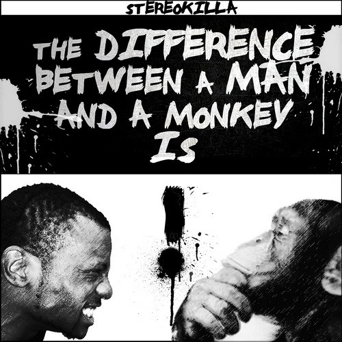 The Difference Between A Man And A Monkey Is!