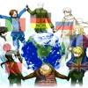 (Hetalia)Marukaite Chikyuu 18 Countries Medley (Piano)