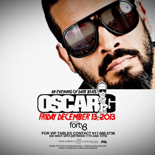 OSCAR G - MADE IN MIAMI Mix - November 2013