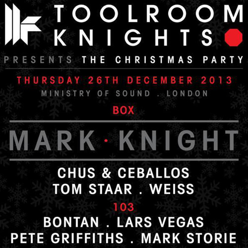 Lars Vegas - Toolroom Knights Ministry of Sound Mix