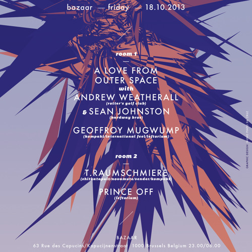 A Love From Outer Space (Andrew Weatherall & Sean Johnston) @ Leftorium 18.10.2013 Part 1