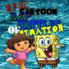 Spongebob Vs Dora. Epic Cartoon Rap Battles of Animation #4