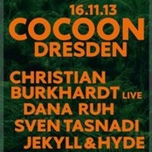 Sven Tasnadi Live @ Cocoon Night/Club Paula-Dresden,16.11.2013