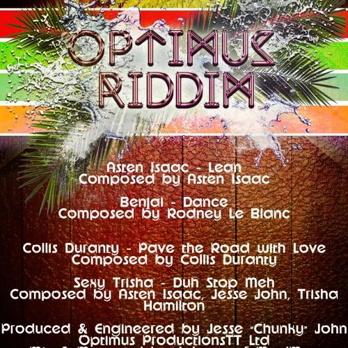 Benjai - Dance  OPTIMUS RIDDIM  SOCA 2014