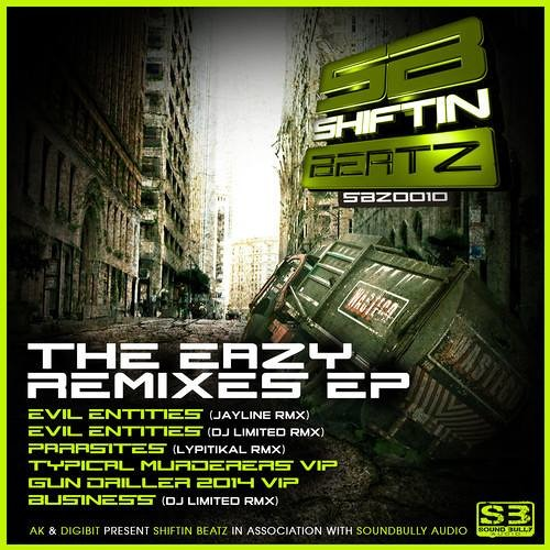 DJ Eazy ft. Traumatik-Evil Entities (DJ Limited Remix) [Shiftin Beatz] - Out Now