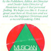 1983 MusicianMagazine AudioCard
