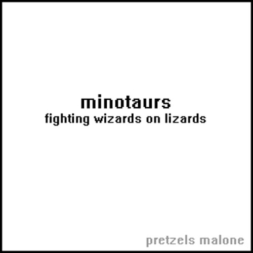 minotaurs (fighting wizards on lizards)