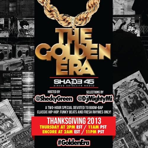 The Golden Era Shade 45 Mix  (((broadcasted November 28, 2013)))