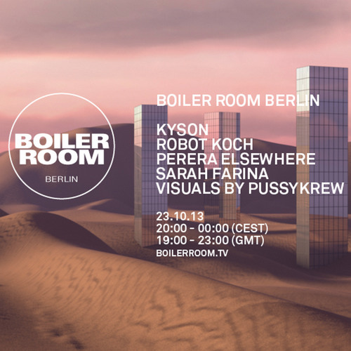 Kyson Live in the Boiler room Berlin
