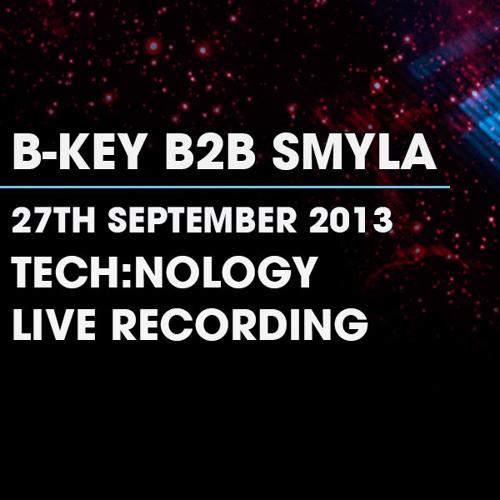B-Key B2B Smyla - Live Recording - 27/9/13