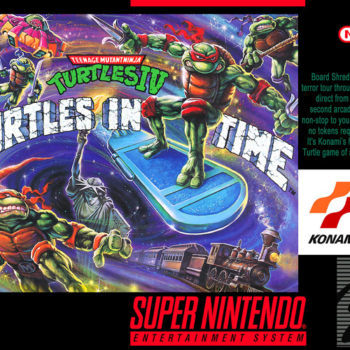 Teenage Mutant Ninja Turtles IV - Turtles In Time (SNES