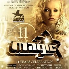 2013-11-30 11 Years MAGIC @ La Rocca A-Tom-X 1.00 - 2.00