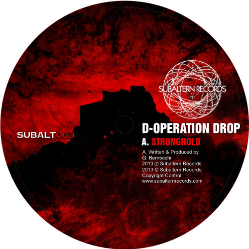 D-Operation Drop - Stronghold EP (SUBALT003) [FKOF Promo]