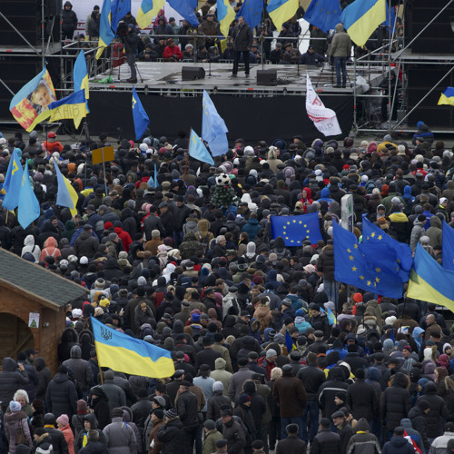 Protests in Ukraine, Mexican cartels on social media and the Israeli government on Iran nuclear deal