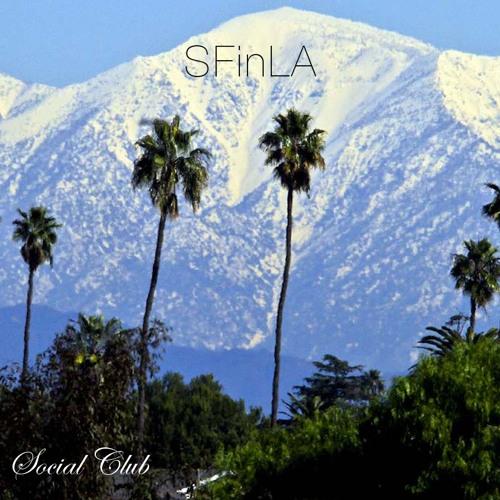 Snowfall in Los Angeles