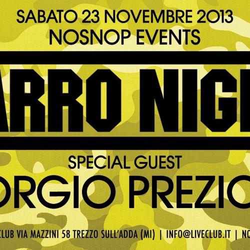 NOSNOP.COM - Zarro Night 23 Nov 2013 w/ Giorgio Prezioso