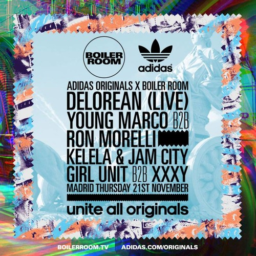 Jam City Boiler Room x Adidas Originals mix