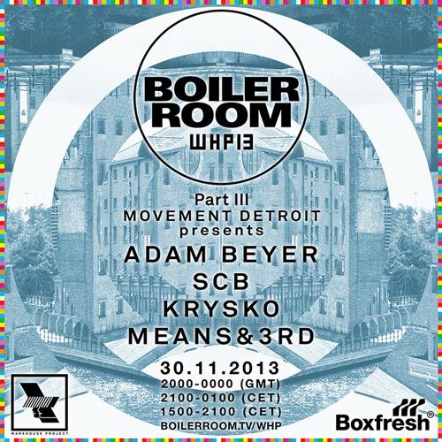 Adam Beyer Boiler Room x Warehouse Project mix