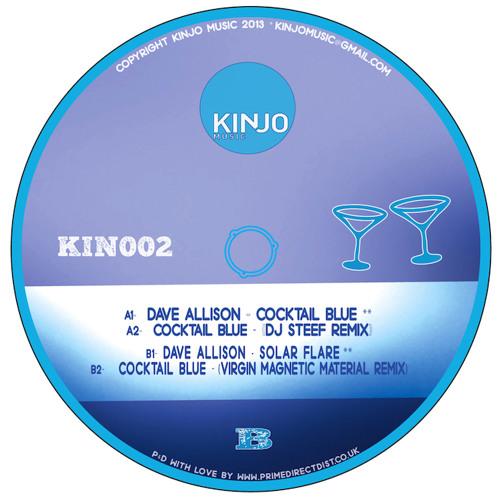 "Dave Allison- ""Cocktail Blue "" EP"