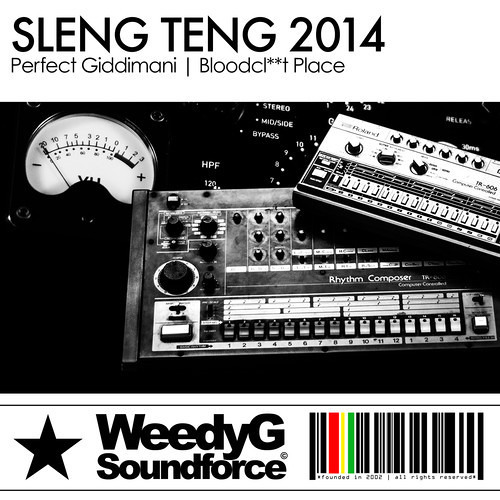 Perfect Giddimani - Bloodcl**t Place [Sleng Teng 2014 - Weedy G 2014]