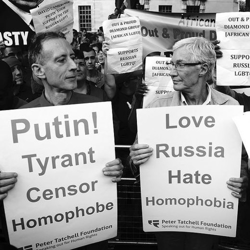 Global attention on homosexuals' fight in Russia