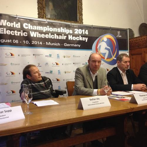 Elektro-Rollstuhl-Hockey-Weltmeisterschaft 2014 in München