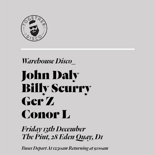 Billy Scurry... Warehouse