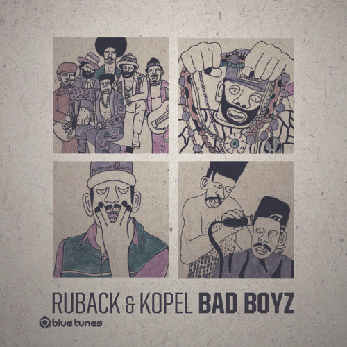 Kopel & Ruback - Bad Boyz [PREVIEW] @ Blue Tunes Records
