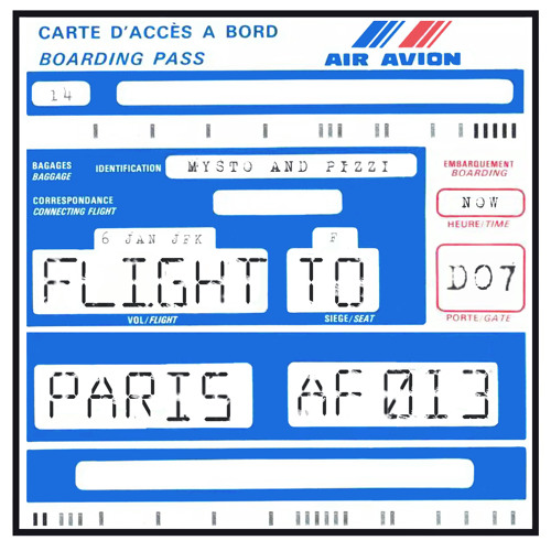 Mysto & Pizzi - Flight To Paris (Original Mix) - OUT NOW