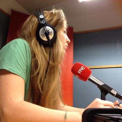 Sara at Radio National Espagna