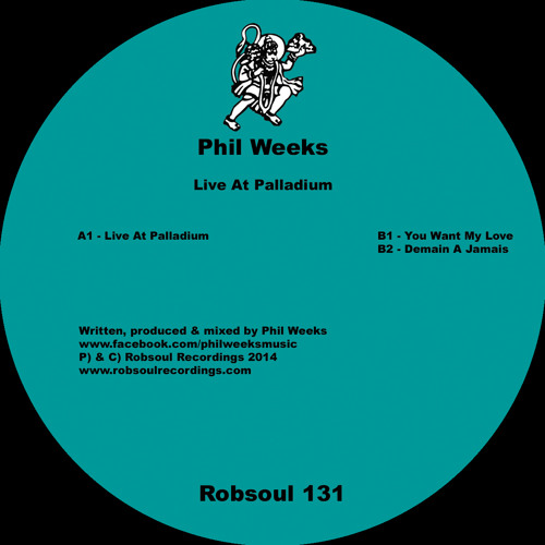 Phil Weeks - Live At Palladium (A1)
