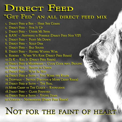 "Direct Feed - ""Get Fed"""