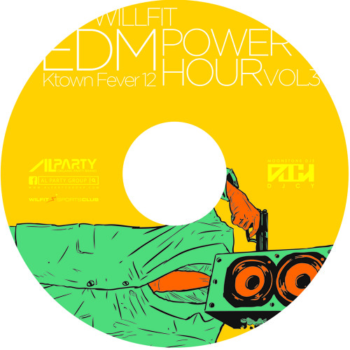 Ktown Fever 12 ( AL PARTY WILLFIT SPORTS CLUB EDM POWER HOUR OFFICIAL MIX. Dec. 2013)