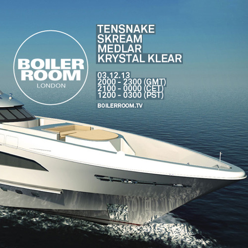 Tensnake Boiler Room mix
