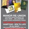 Manor Re-Union Mix - Sat 30th Nov 2013 (Full 6 Hour Set)
