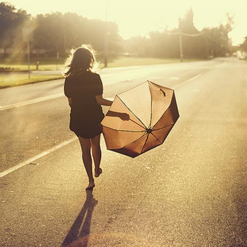Umbrellas In The Sunshine