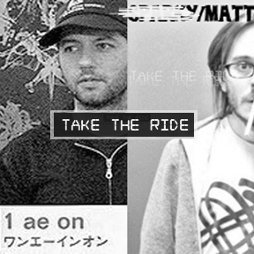 Take The Ride podcast 01  (Matthew Jay Landon, Gabe Molnar)