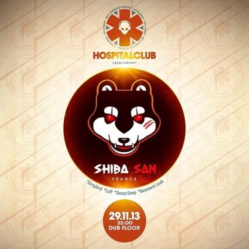 SHIBA SAN 29.11.2013 LIVE SET @ HOSPITALCLUB (RUSSIA)