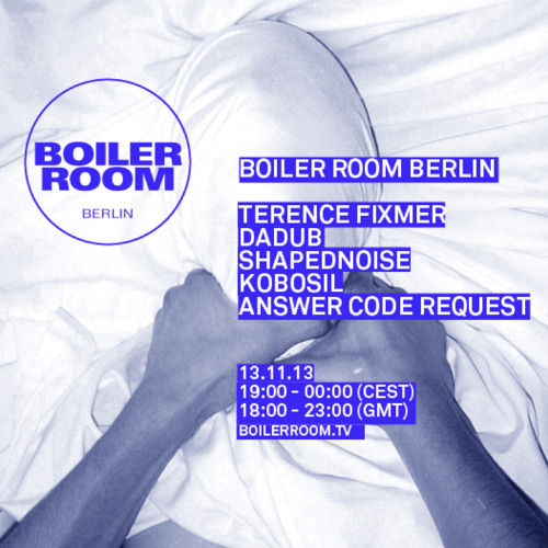 Shapednoise LIVE in the Boiler Room Berlin