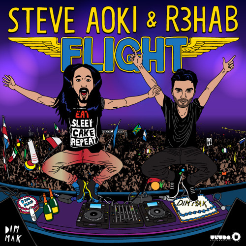 Steve Aoki & R3hab - Flight [OUT NOW!!!]