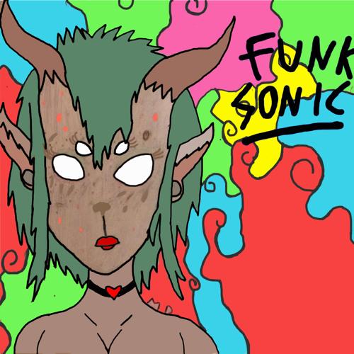 Funk Sonic - Green Dinosaur