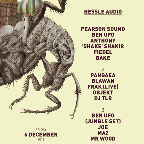Rinse FM, Hessle Audio Show 05/12/13 ~ Dr Maz & DJ TLR Take-over