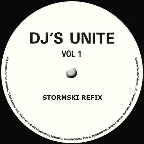 DJ'S UNITE - DJ'S UNITE VOL 1 (STORMSKI REFIX) (AVAILABLE TO BUY NOW ON IMPACT RECORDS)
