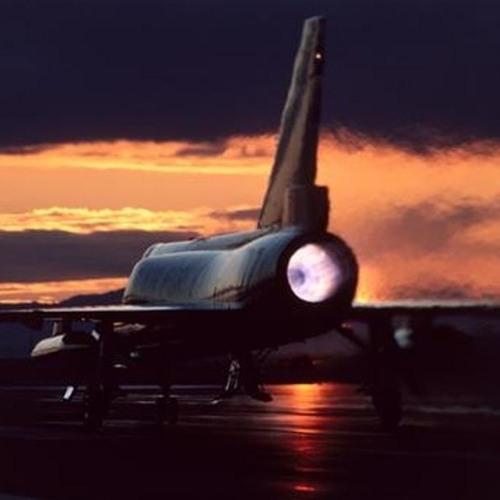 F-106 Afterburner Takeoff