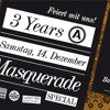 3 Years Admiral Music Lounge Birthday Masquerade Special