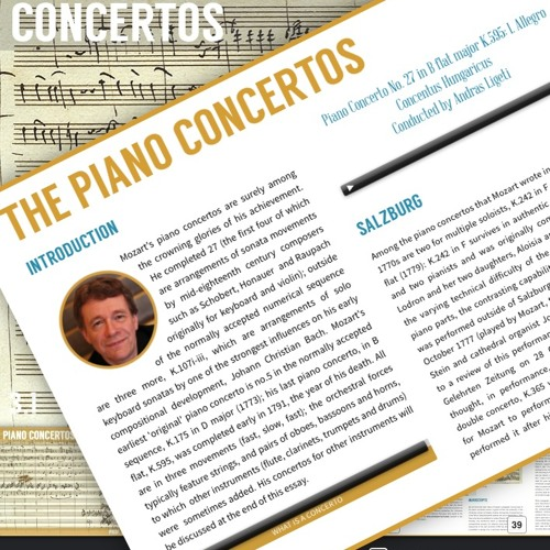 Author and Pianist John Irving discusses the immediate impact of Mozart's Concertos.