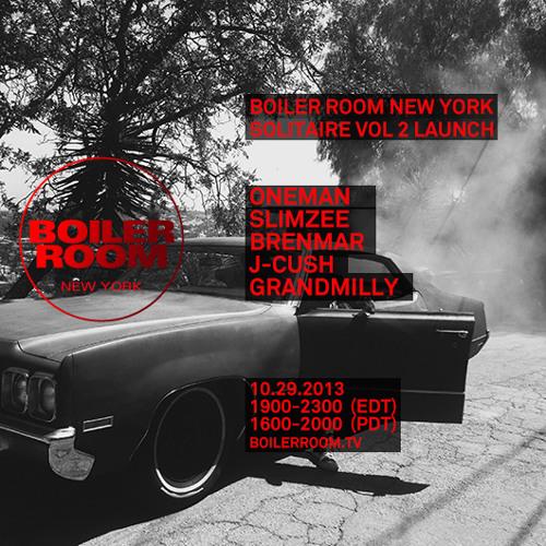 J-Cush Boiler Room NYC DJ Set