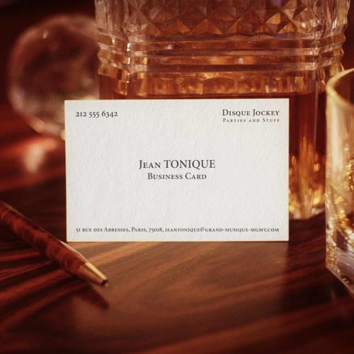 Jean Tonique - Business Card