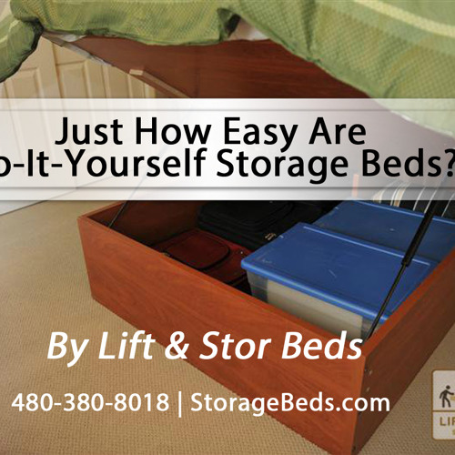 Just How Easy Are Do-It-Yourself Storage Beds From Lift and Stor Beds